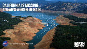 """The drought in California has added up to a 20"""" precipitation debt, NASA Goddard Space Flight Center August 13, 2015"""