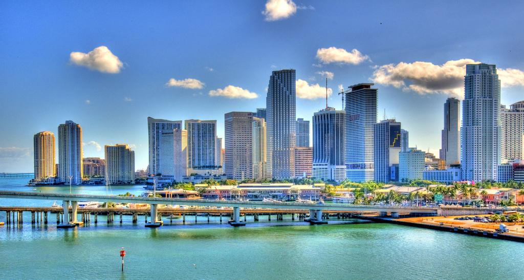 Miami Skyline, iamNigelMorris April 14, 2009