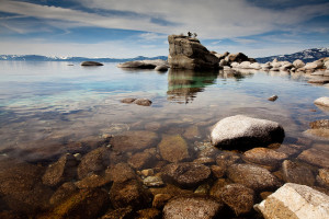 Bonsai Rock, Lake Tahoe, Geoff Stearns February 14, 2010