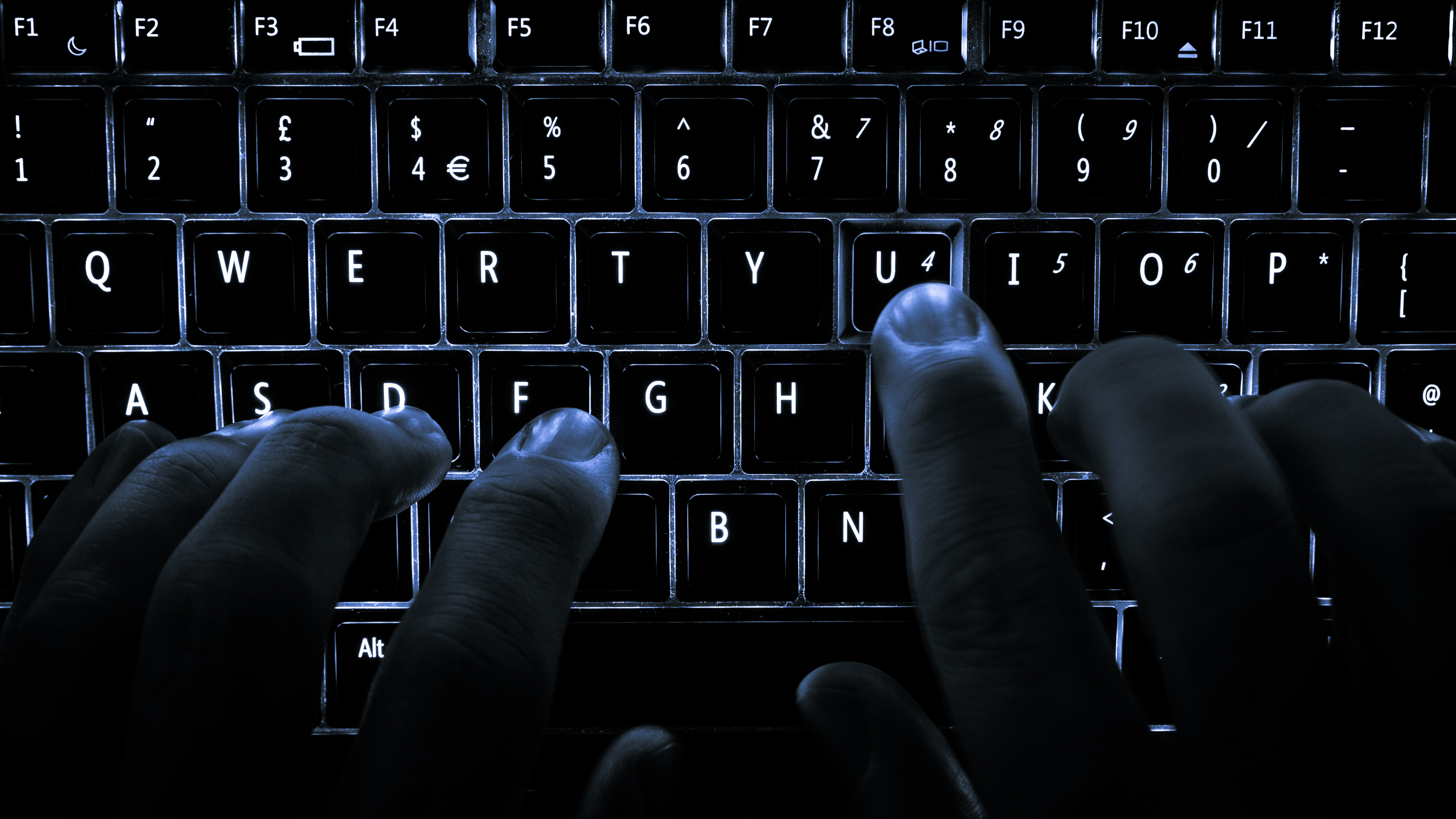 Backlit keyboard, Credit: Wikimedia Commons