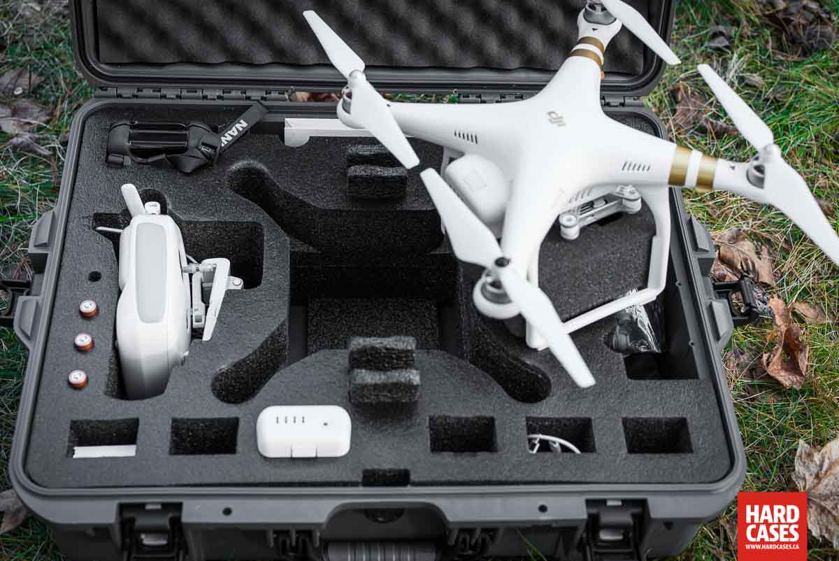 DJI Phantom 3 Hard Case Detail