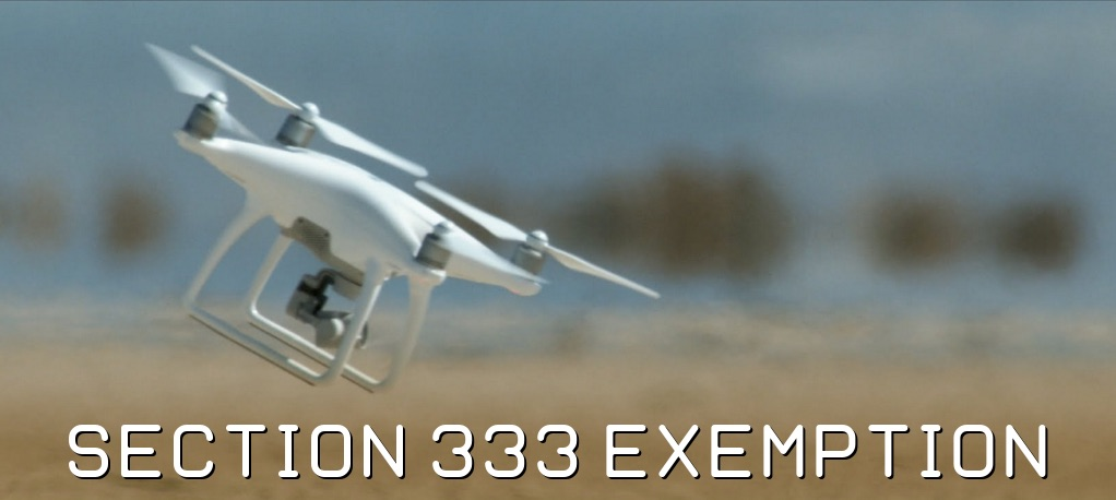Section 333 Exemption, Credit: Drone Universities