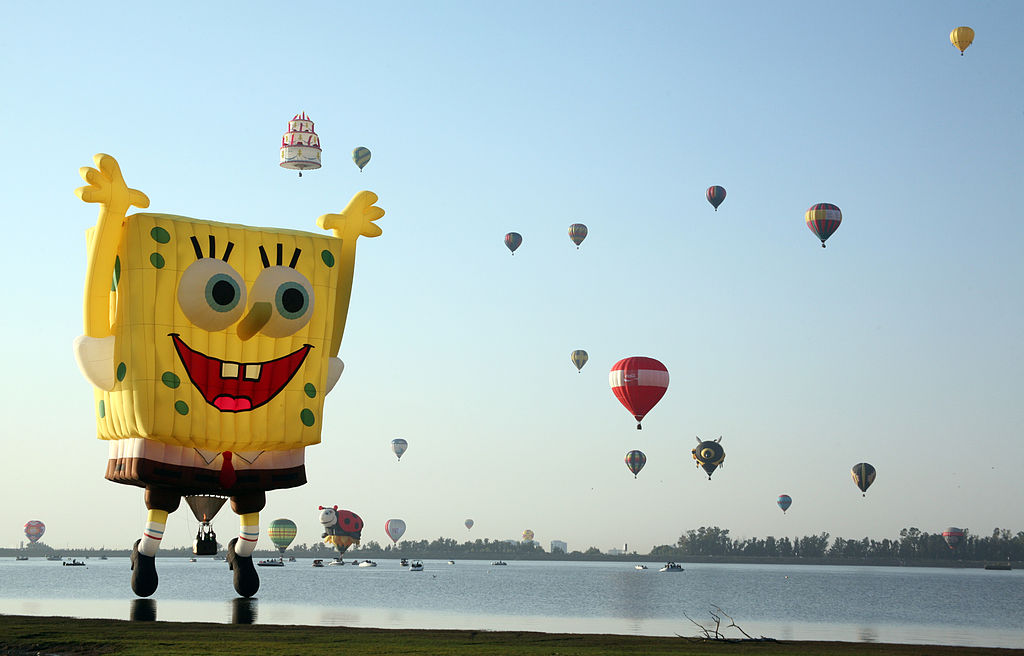 Hot air ballon festival in Leon, Guanajuato, Mexico. November 2010., Credit: Wikimedia Commons