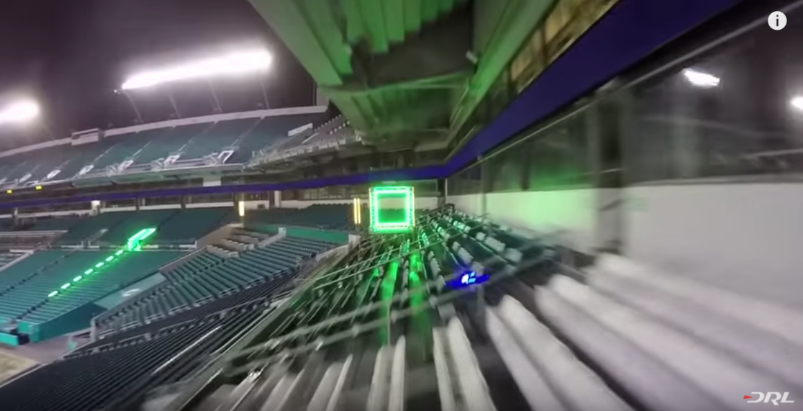 Drone Racing League, Credit: YouTube