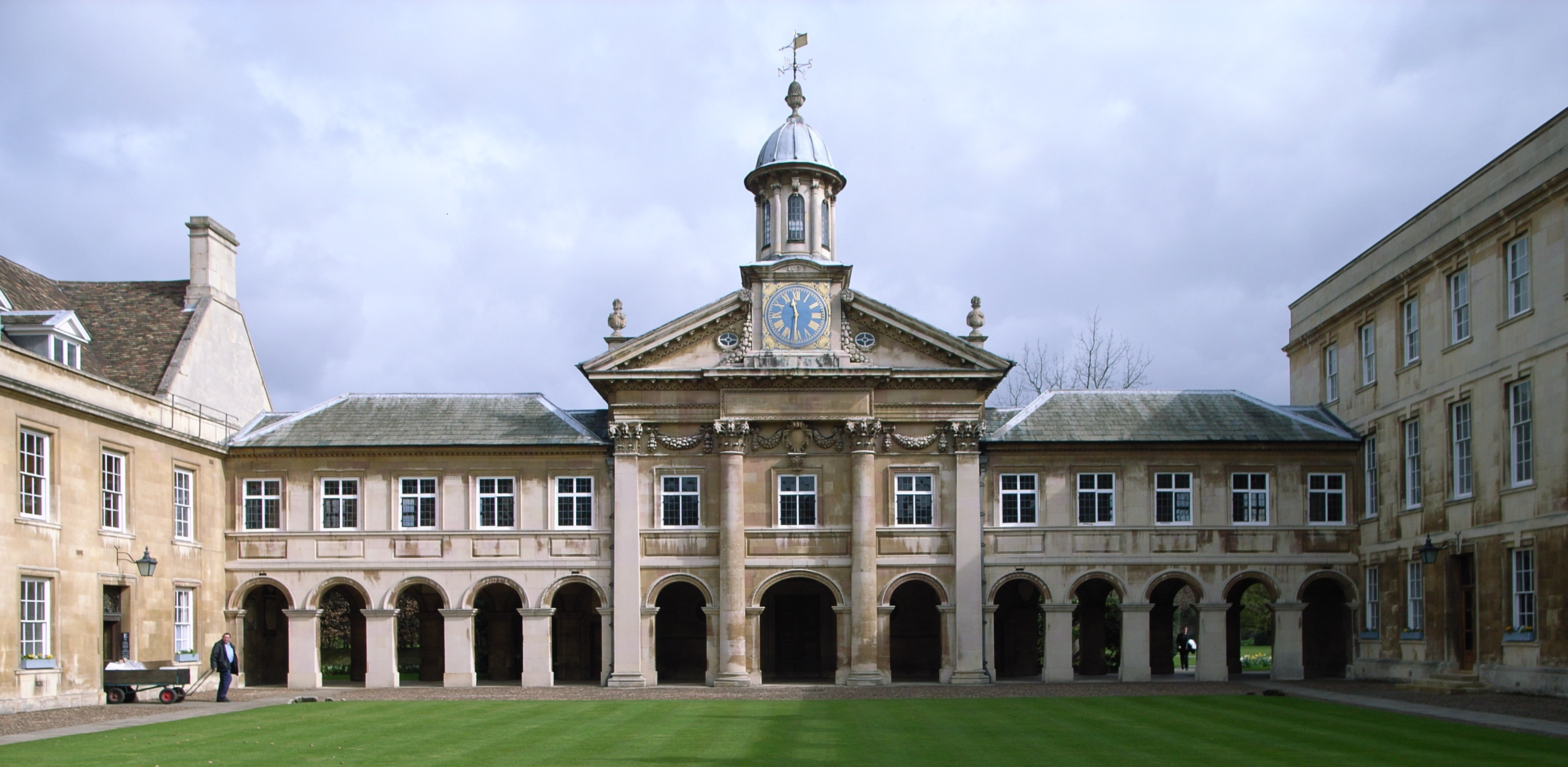 The Chapel Emmanuel College, Credit: Wikimedia Commons