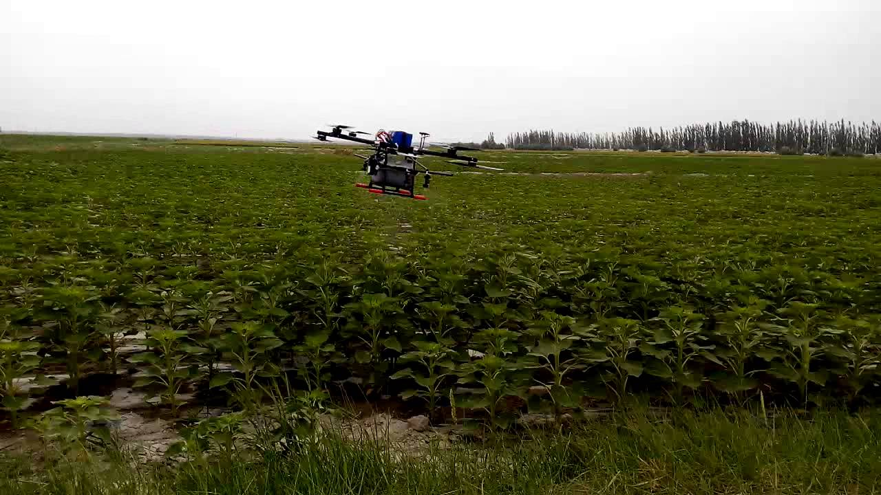 Agriculture Drone Spraying Show, Credit: YouTube