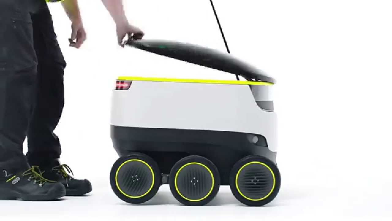 Preview of The Starship Delivery Robot, Credit: YouTube