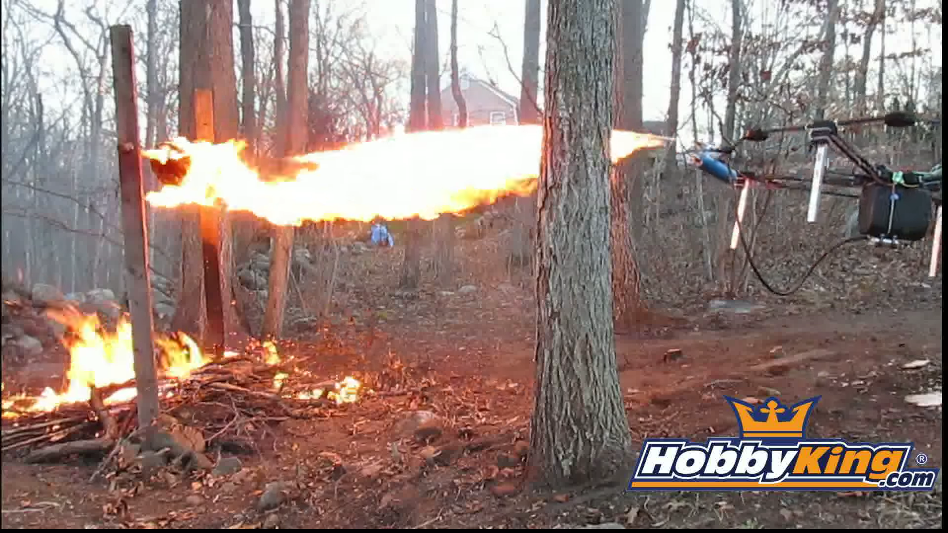Drone Flamethrower, Credit: YouTube