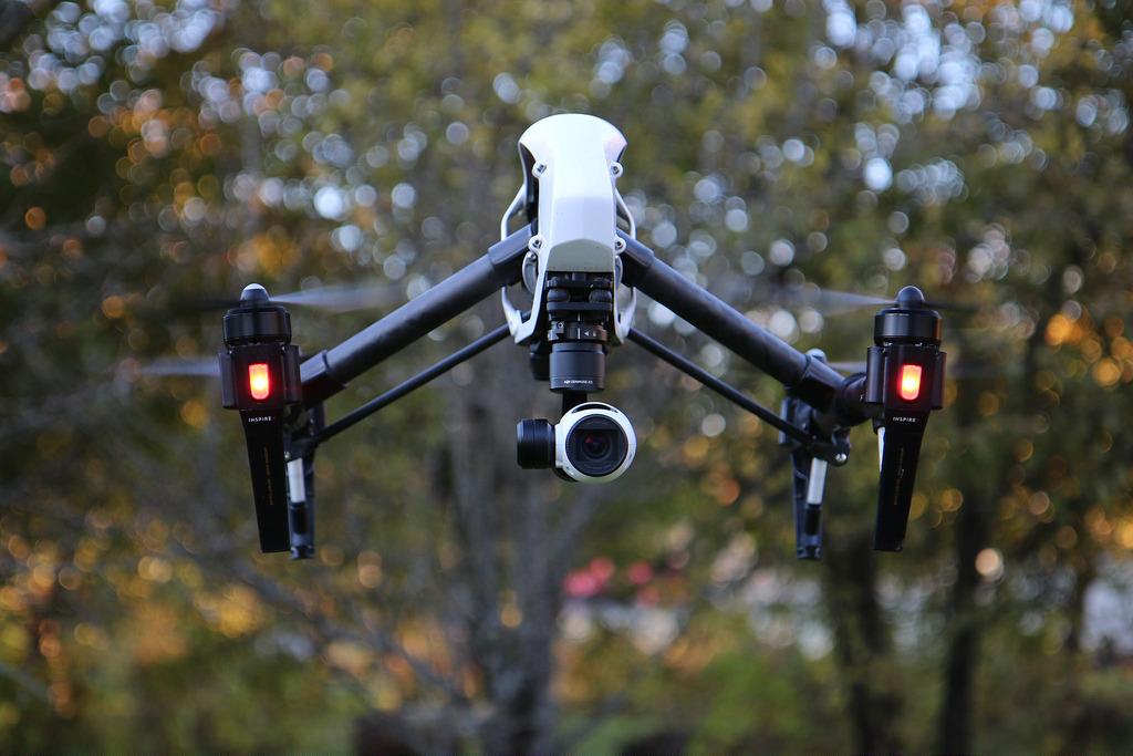 DJI Inspire 1 drone quadcopter flying 4K video, Andri Koolme October 24, 2015