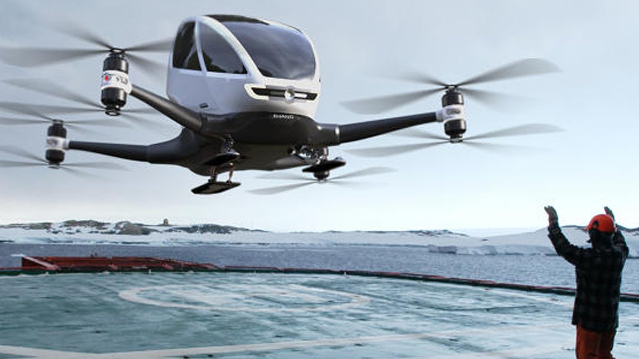 EHang 184 Landing