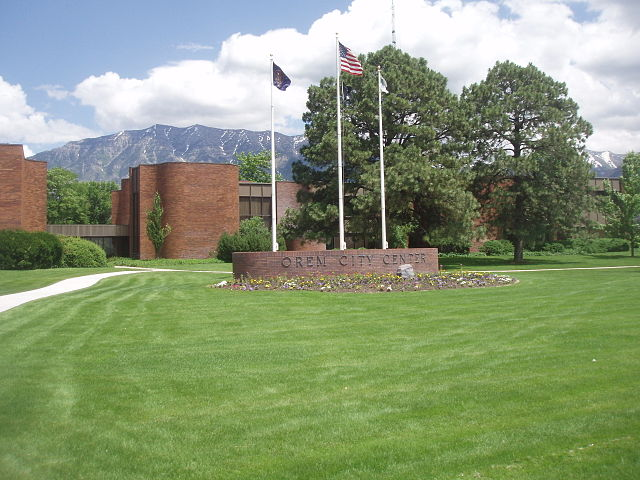 Orem City Center, Credit: Wikimedia Commons