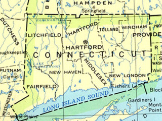 Connecticut Map, Credit: Wikimedia Commons