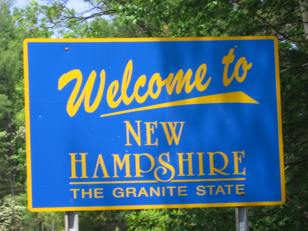 Welcome to New Hampshire, Credit: Wikimedia Commons