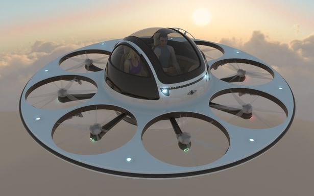 I.F.O Human Transport from Jet Capsule