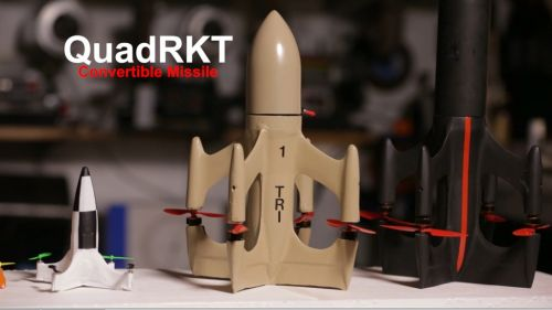 QuadRKT Drone Racing Incredibly Fast Quadcopter