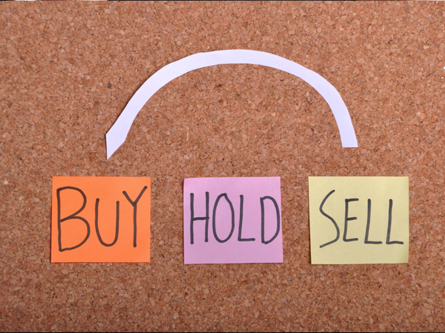 Buy Hold Sell, Credit: Stock Image