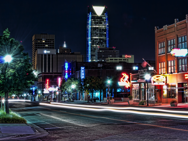 Automobile Alley in Oklahoma City, Credit: WikiMedia Commons