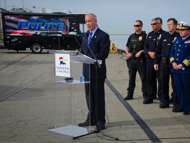 Harbor Police Department Showcases New Tactical Training Vessel, Port of San Diego December 2, 2014