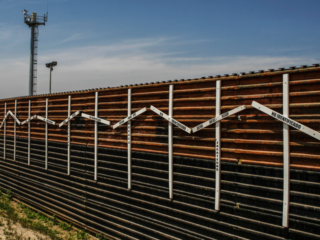 Mexico–United States barrier, Credit: Wikimedia Commons