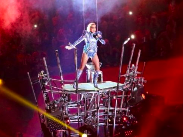 Lady Gaga Super Bowl LI Halftime Show, Credit: WikiMedia Commons