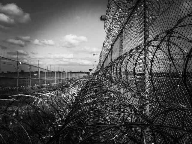 Prison Fence, Credit: PixaBay