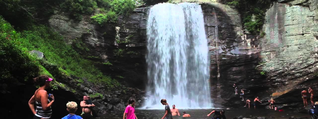 Looking Glass Falls, North Carolina, Credit: YouTube