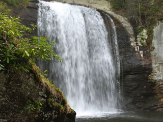 Looking Glass Falls, North Carolina, Credit: Wikimedia Commons