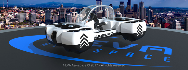 Neva Aerospace AirQuadOne, Credit: Neva Aerospace
