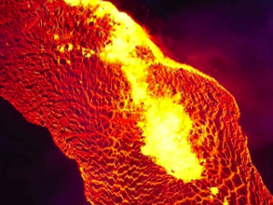 Lava Flow, Credit: YouTube