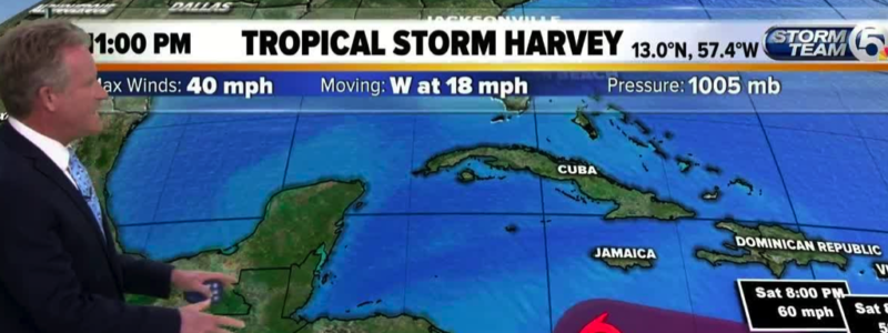Tropical Storm Harvey, Credit: YouTube