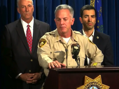 Las Vegas PD Briefing, Credit: YouTube