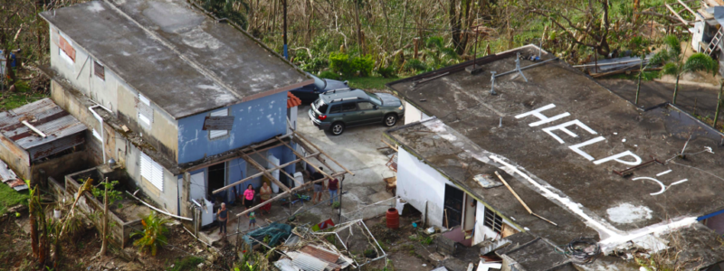 Puerto Rico Post 2017 Storm Season, Credit:Wikimedia Commons